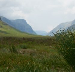 The sweeping panorama of Glencoe